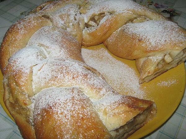 Пирог «Косичка»