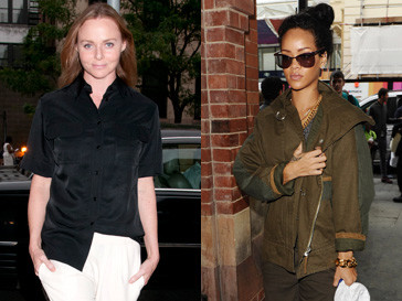 Рианна (Rihanna) и Стелла Маккартни (Stella McCartney) вместе работают над модной линией одежды