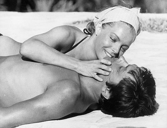 истории любви известных людей Ален Делон и Роми Шнайдер