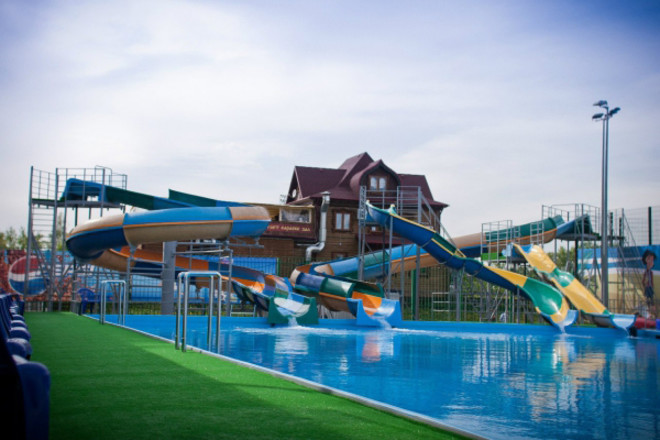 Аквапарк в Сормовском парке