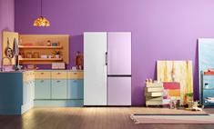 samsung представляет обновленную линейку интерьерных холодильников bespoke россии