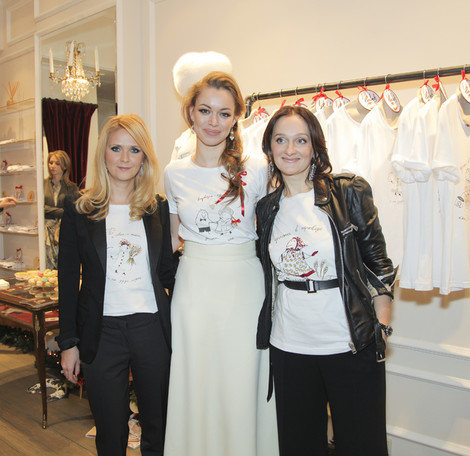 Наталья Шкулева, Анастасия Романцова и Елена Сотникова