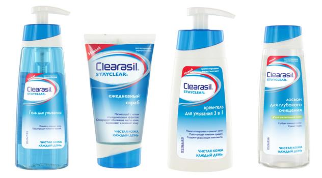 Все средства линии Stayclear не только глубоко очищают кожу, но и обеспечивают ей дополнительное увлажнение.
