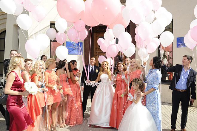 Свадьба Ксении Бородиной фото