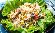 Кукуруза плюс зеленый горошек: рецепт салата