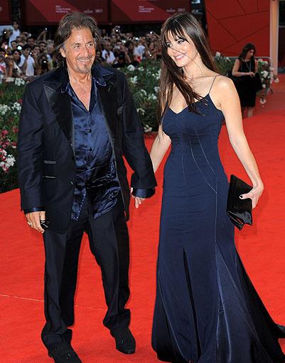 Аль Пачино (Al Pacino) и Люсиль Сола (Lucila Sola)