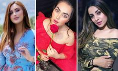 11 горячих афганских моделей, певиц (даже рэперша!) и просто красавиц