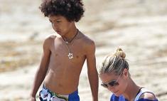 Хайди Клум спасла сына от смерти