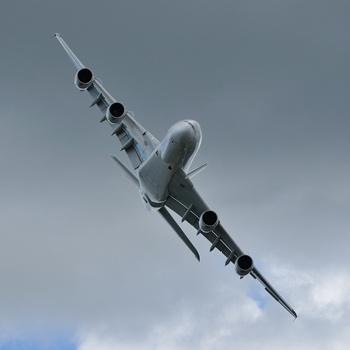 Аэробус А380 - самый большой в мире самолет