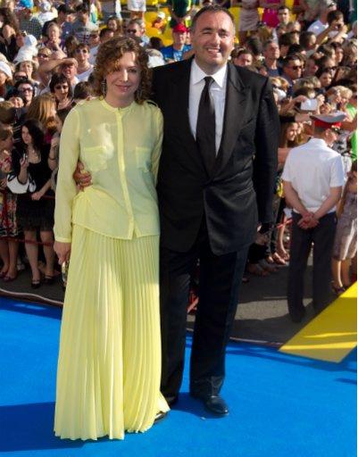 Александр Роднянский с женой