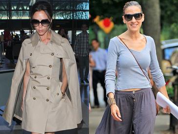 Виктория Бекхэм (Victoria Beckham) и Сара Джессика Паркер (Sarah Jessica Parker) работают над секретной модной линией?