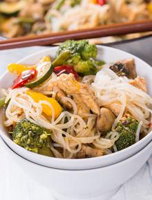 Диета Дюкана: рецепт лапши ширатаки по-тайски