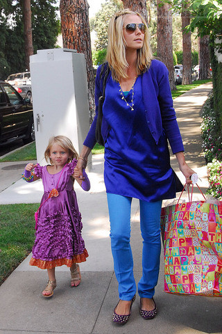 Хайди Клум с дочерью