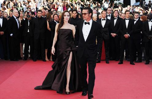 Анджелина Джоли появилась на нескольких мероприятих Каннского фестиваля.