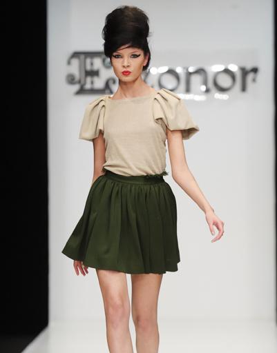 Mercedes-Benz Fashion Week Russia: Дом моды Элеонор, осень-зима 2012/13