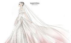 Розовые 20-е: в каком платье вышла замуж Энн Хэтэуэй?