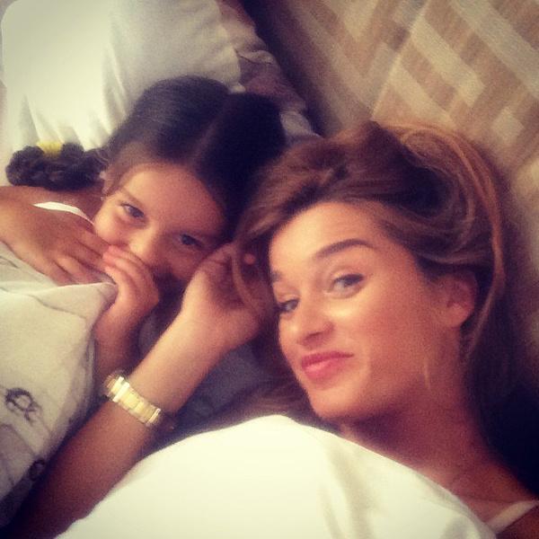Ксения Бородина с дочкой: фото