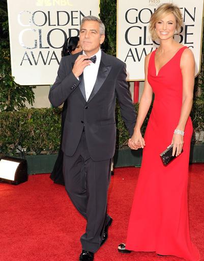 Джордж Клуни (George Clooney) и Стейси Киблер (Stacy Keibler)