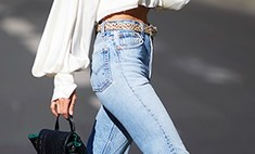 Как носить джинсы осенью: 10 крутых идей от звезд