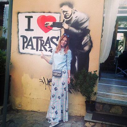 Наталья Подольская на отдыхе