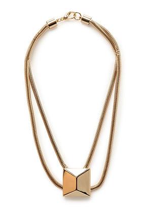Ожерелье с массивной заклепкой Mango