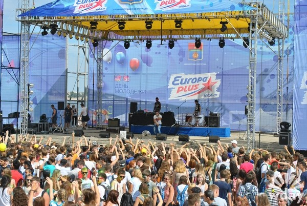 День молодежи Волгоград 28 июня 2015 DJ Акелла