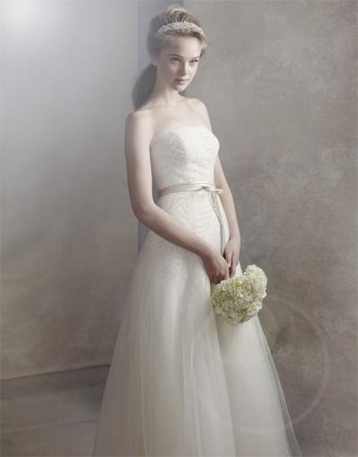Свадебное платье Vera Wang, коллекция весна-лето 2012