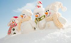 Улыбнись: 35 невероятных снеговиков на улицах Ростова