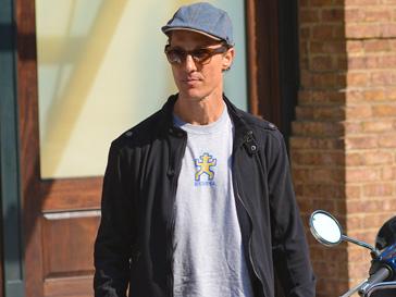 Мэтью Макконахи (Matthew McConaughey) порерял в весе почти 13 килоагрмм