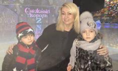 Рудковская вывела в свет детей Киркорова. Видео