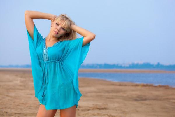Как подобрать пляжную тунику