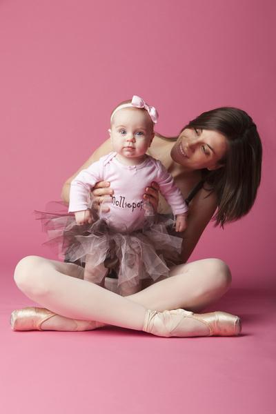 Занятия балетом для молодых мам