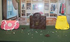 В Уфу привезли шоколадные бутерброды с икрой и женские сумочки