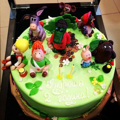 Торт для сына Боярской