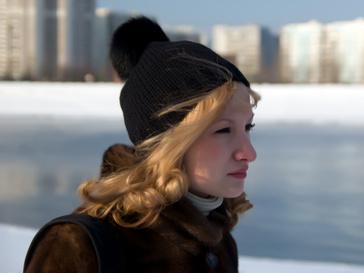Первые морозы в Москве