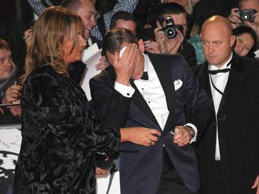 У Дэниэал Крейга (Daniel Craig) на премьере случился приступ паники