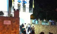 Анфиса Чехова побывала на греческой свадьбе