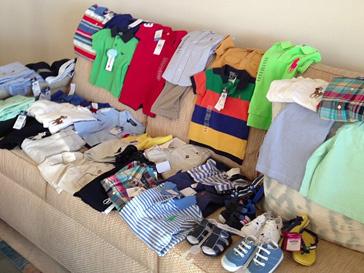 Яна Рудковская скупила всю одежду в бутике Ralph Lauren для своих сыновей