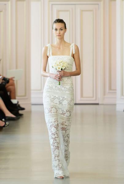 Дом Oscar de la Renta представил новую свадебную коллекцию   галерея [1] фото [3]