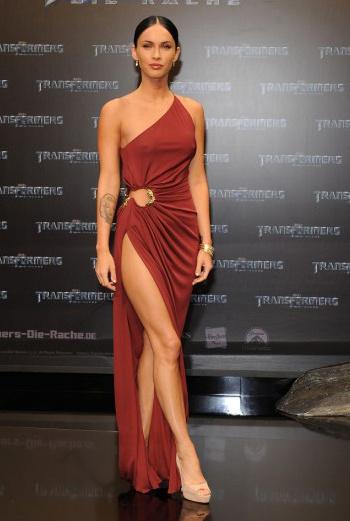 Меган Фокс в платье Roberto Cavalli