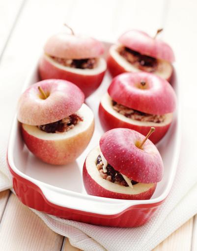 Как приготовить печеные яблоки?