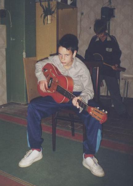 Василий Уриевский в детстве