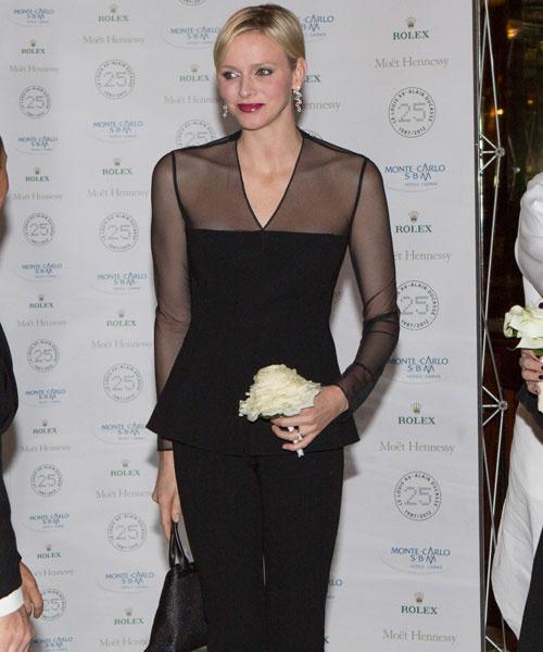 Принцесса Монако Шарлен, 2012 год