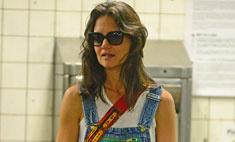Стиль звезд: Кэти Холмс и Сури у метро