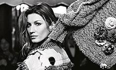 Жизель Бюндхен рекламирует одежду Chanel