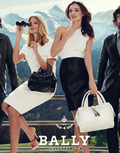 Миранда Керр (Miranda Kerr) в рекламной кампании Bally сезона весна-лето 2012
