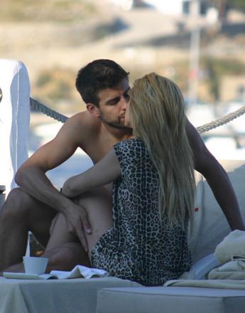 Шакира (Shakira) и Жерард Пике (Gerard Pique)