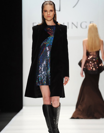 Mercedes-Benz Fashion Week Russia: Eva Minge, осень-зима 2012/13