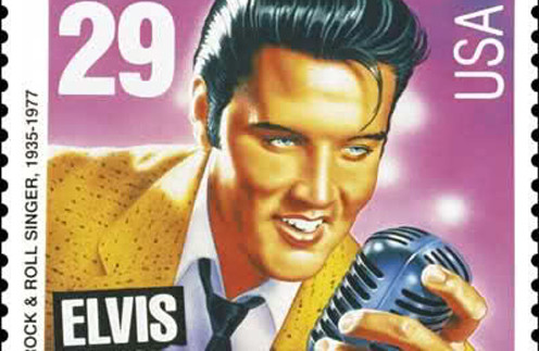 Марки с изображениям Элвиса долгое время оставались лидерами продаж.
