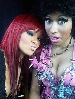 Ники Минаж (Nicki Minaj) и Рианна (Rihanna)